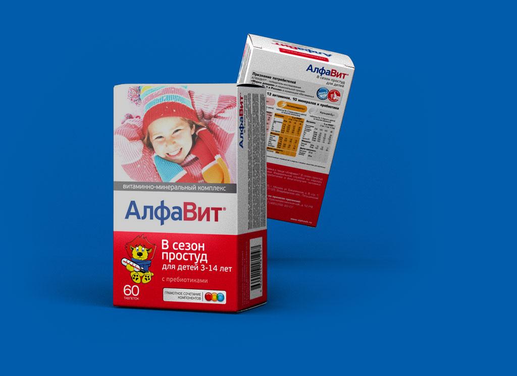 АЛФАВИТ В сезон простуд для детей 3-12 лет